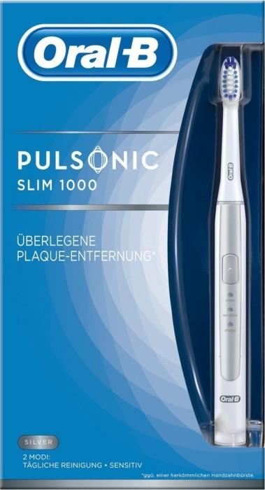 851e3c2c0599 Oral-B Pulsonic Slim 1000 srebrny od PLN 173