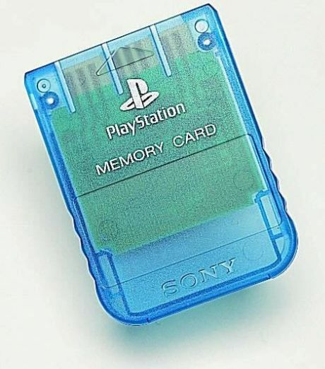 Sony PlayStation One - Memory Card blau (PS1)