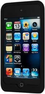 Artwizz SeeJacket Silicone for iPod touch 4G black (8154-SJS-T4-B) -- www.artwizz.de