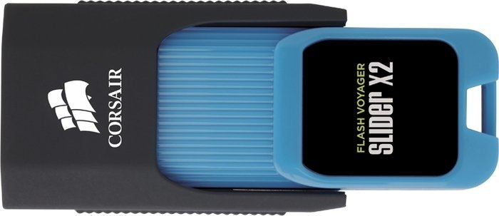 Corsair Flash Voyager Slider X2 Version A 256GB, USB-A 3.0 (CMFSL3X2A-256GB)