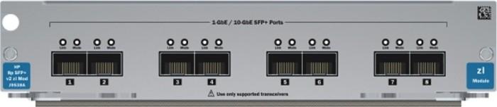 HP 5400R zl2 v2 zl 10G Switch Modul, 8x SFP+ (J9538A)