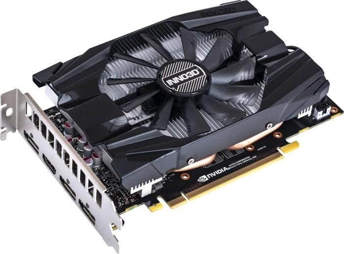 INNO3D GeForce RTX 2060 SUPER Compact X1, 8GB GDDR6, HDMI, 3x DP (N206S1-06D6-1710VA20)