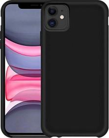 Pedea Liquid Silicone Case für Apple iPhone 11 schwarz (50160814)