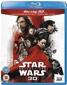 Star Wars - Episode 8: The Last Jedi (3D) (Blu-ray) (UK)