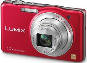 Panasonic Lumix DMC-SZ1 red