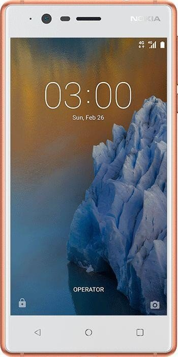 Nokia 3 Single-SIM kupfer