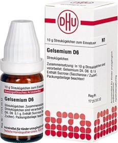 DHU Gelsemium D6 Globuli, 10g