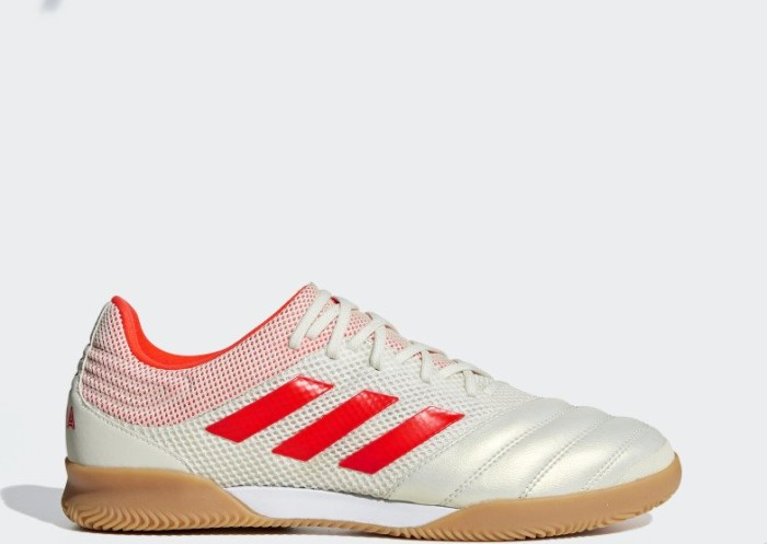 adidas Copa 19.3 IN Sala off white/solar red/gum m1 (men) (D98065)