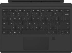 Microsoft Surface Type Cover Pro 4 with fingerprint-ID black, DE (RH9-00005/RH7-00006)