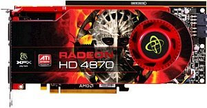 XFX Radeon HD 4870 XXX, 1GB GDDR5, 2x DVI, TV-out, PCIe 2.0 (HD-487A-ZDDC)
