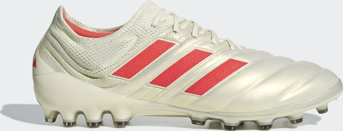 adidas Copa 19.1 AG off white/solar red/core black (men) (G28990)