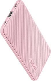 Trust Primo Ultra-thin Powerbank 5000mAh pink (23862)