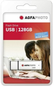 AgfaPhoto USB Flash Drive 128GB, USB-A 2.0