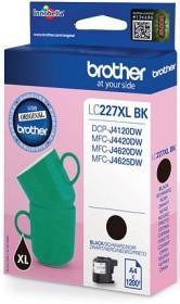 Brother Tinte LC227XL BK schwarz
