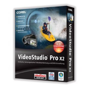 Corel: Video Studio Pro X2 (German) (PC) (VSPRX2DEPC)
