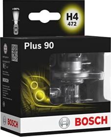 Bosch Plus 90 H4 60/55W, 2er-Pack