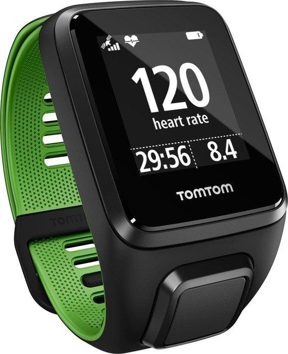 TomTom Runner 3 Cardio Sportuhr Large Schwarz günstig kaufen Sportelektronik