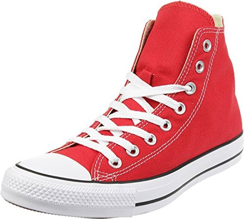 Converse Chuck Taylor All Star Classic Hi red -- via Amazon Partnerprogramm