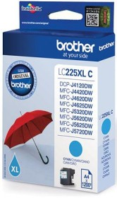 Brother Tinte LC225XL C cyan