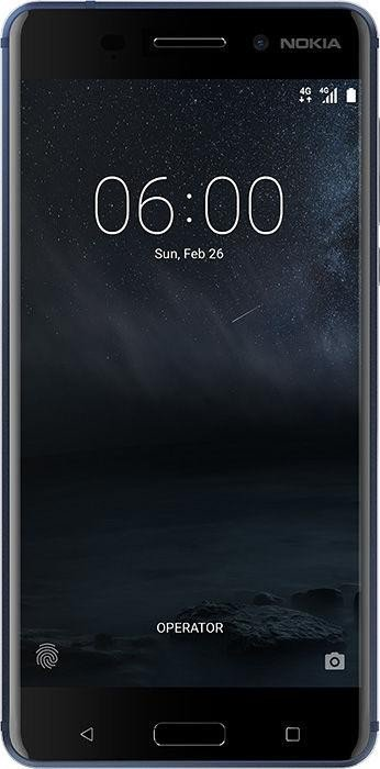 Nokia 6 Single-SIM blau