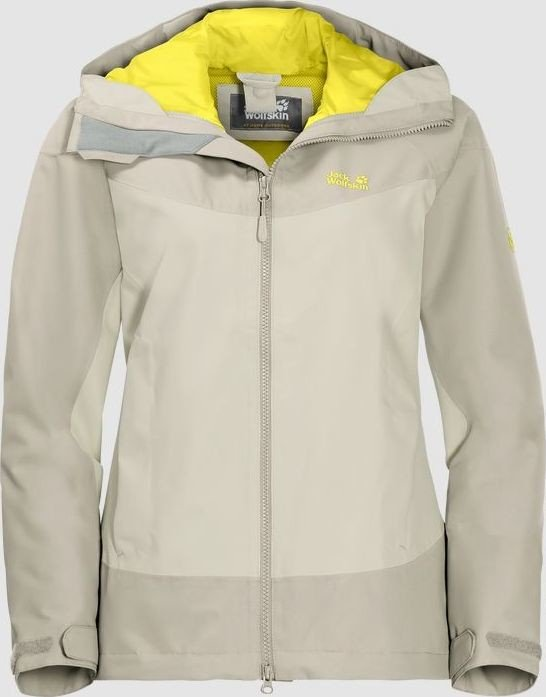 Jack Wolfskin North Ridge Jacke white sand (Damen) (1108492 5017) ab € 89,99