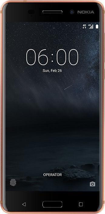 Nokia 6  Single-SIM kupfer