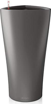 Lechuza Delta 30 Blumenkasten 29cm anthrazit metallic (15503) -- via Amazon Partnerprogramm