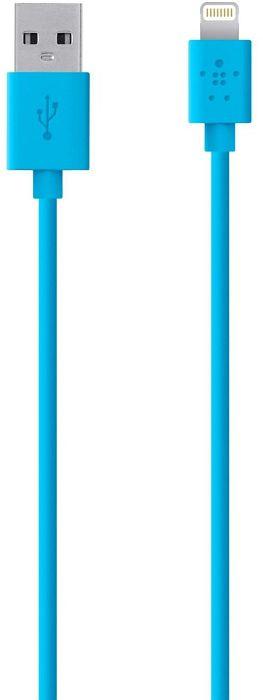 Belkin Lightning/USB Adapterkabel 1.2m blau (F8J023BT04-BLU)