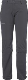 VauDe Farley Stretch Capri T-Zip II Hose lang iron (Damen) (04577-844)