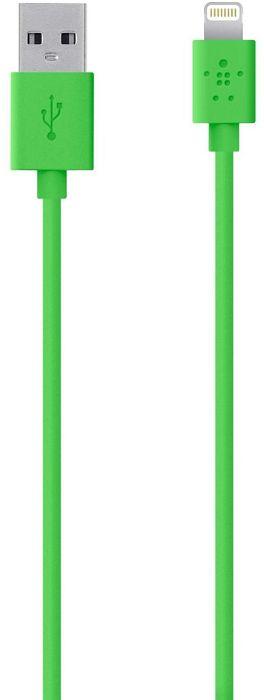 Belkin Lightning/USB Adapterkabel 1.2m grün (F8J023BT04-GRN)