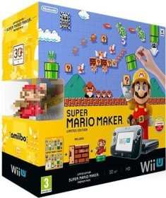 Nintendo Wii U Premium pack - 32GB Super Mario Maker Bundle black