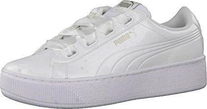 Puma Lifestyle Vikky Platform RibbonP Sneaker weiß