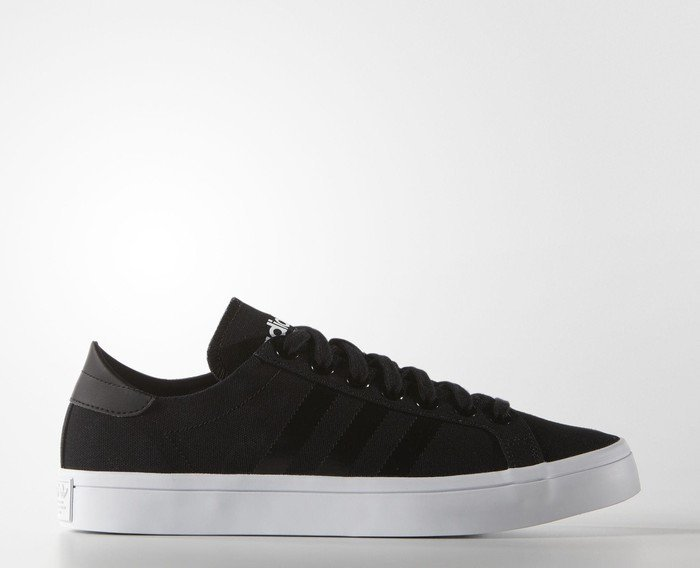 adidas Court Vantage core black/white (Herren) (S78766)