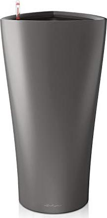 Lechuza Delta 40 Blumenkasten 39cm anthrazit metallic (15543) -- via Amazon Partnerprogramm