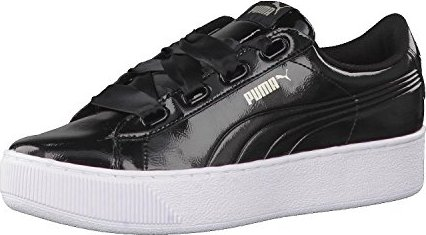 günstig kaufen Super süße schöne Schuhe Puma Vikky Platform Ribbon P schwarz (Damen) (366419-01) ab € 34,99