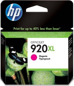 HP Tinte 920 XL magenta (CD973AE)