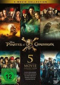 Pirates of the Caribbean Box (Filme 1-5) (DVD)