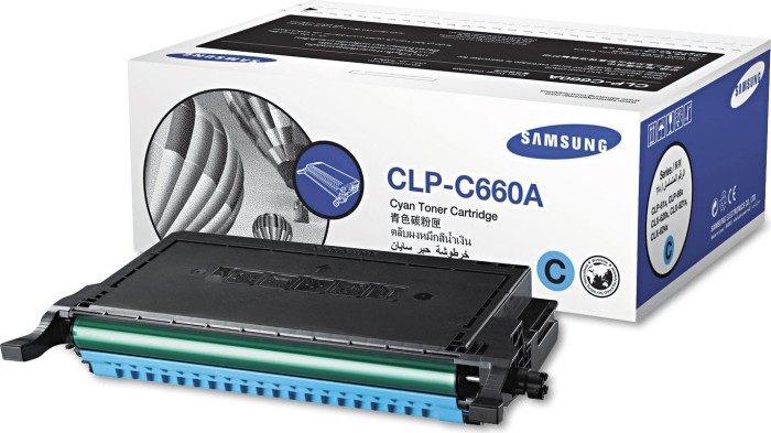 Samsung CLP-C660A Toner cyan -- via Amazon Partnerprogramm
