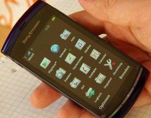 Sony Ericsson Vivaz mit Branding -- ©TarifAgent.com