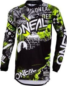 O'Neal Element Attack Trikot langarm black/neon yellow (Herren) (0008-8)