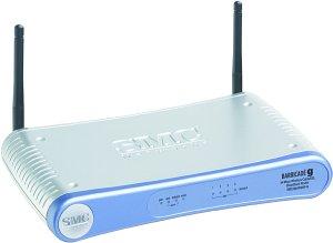 SMC Barricade g Router/Print Server, 54Mbps (2804WBRP-G)