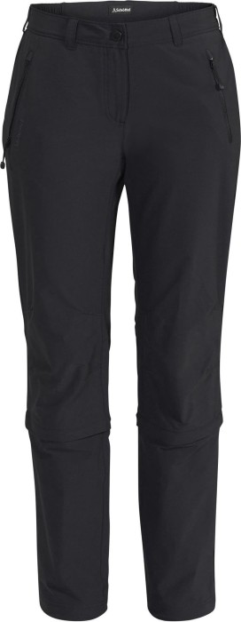 Schöffel Engadin Zip-Off pant long black (ladies) (11645-9990)