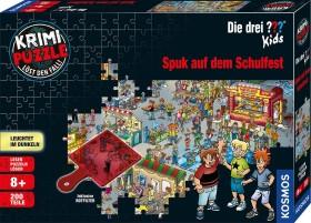 Kosmos Krimi Puzzle: Die drei ??? Kids - Spuk auf dem Schulfest (69798)