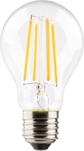 Müller Licht Filament LED Birne Retro E27 6W warmweiß klar, 2er-Pack (400295)