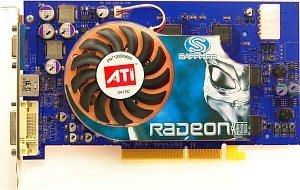Sapphire hybryda Radeon X800 Pro, 256MB DDR3, DVI, ViVo, AGP, bulk/lite retail (21034-01-10/20)