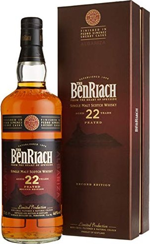 Benriach Albariza Peated Second Edition 22 Years Old 700ml