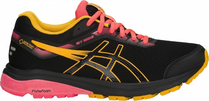 Asics GT-1000 7 GTX black/amber (ladies) (1012A031-001)