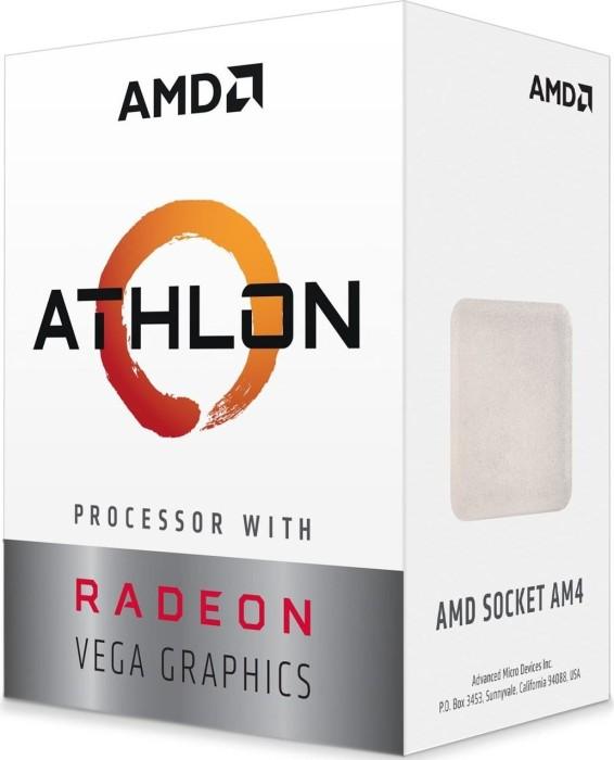 AMD Athlon 220GE, 2x 3.40GHz, boxed (YD220GC6FBBOX)