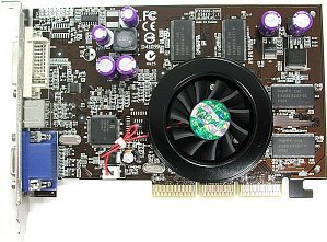 AOpen Aeolus FX5600-DVC256, GeForceFX 5600, 256MB DDR, DVI, ViVo, AGP (91.05210.310)