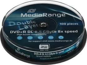 MediaRange DVD+R 8.5GB DL 8x, 10er Spindel (MR466)